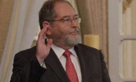 Security Minister Ricardo Perdomo