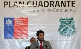 Chile Carabiniers announce the imposition of a Cuadrantes Plan