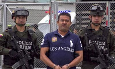 """Alias """"Diego Rastrojo"""" leaving Colombia"""