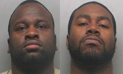 Samuel Walker (left) and Kevin Corley (right)