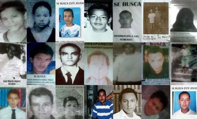 Disappearances on the rise in El Salvador