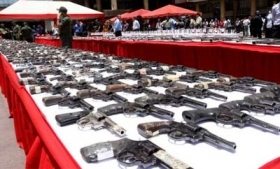 Arms seized by Venezuelan authorities