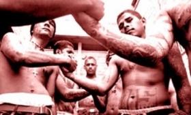 Gang members in Panama City