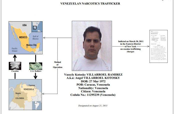 Ex-Venezuela army captain Vassyly Kotosky Villarroel Ramirez