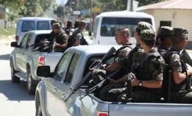 Honduras military patrols city streets