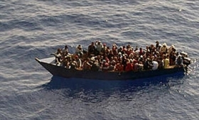 Haitian migrants trying to reach Isla Mona