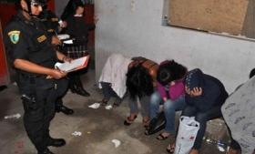 Human trafficking victims in Peru