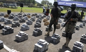 Mexico-bound cocaine shipment seized in Panama