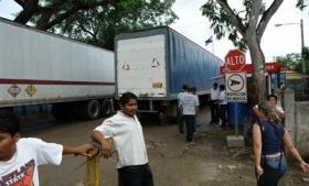 Peñas Blancas on the Nicaraguan border