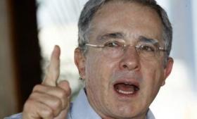 Former President of Colombia Alvaro Uribe