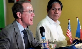 William Brownfield and Arturo Cacdac