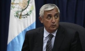 Guatemalan President Otto Perez