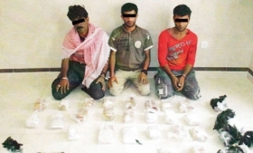 Drug smugglers caught in Qatar