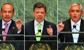 Presidents of Mexico, Colombia and Guatemala call for reform