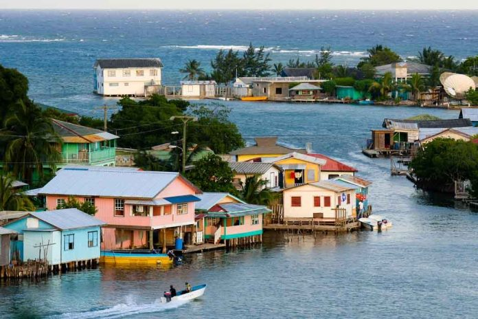The Honduras island of Roatan