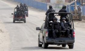 Federal troops on patrol in Acapulco