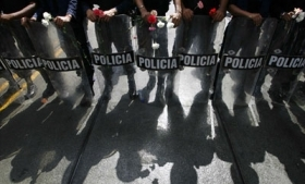 A third of survey respondents called for police reform in Venezuela