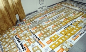 More than 300 kilos of cocaine recovered near Buenos Aires