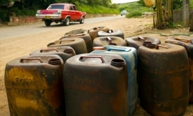 Contraband fuel is a lucrative trade in Colombia