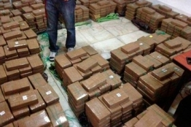 Peruvian authorities seized more than two tons of cocaine