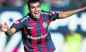 San Lorenzo player Angel Correa