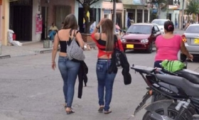Colombia is a key source of sex trafficking victims