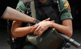 Venezuela National Guard member