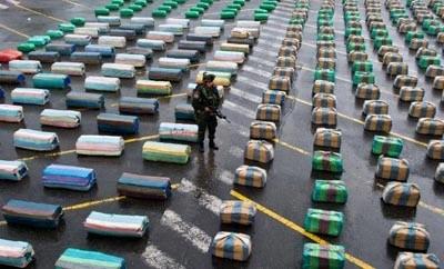 Colombia authorities seized 347 tons of marijuana in 2013