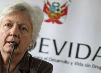 Devida President Carmen Mesias