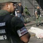 A murder scene in Venezuela