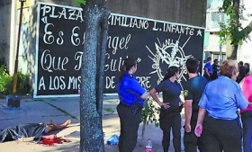 Body of one of Rosario, Argentina's recent murder victims