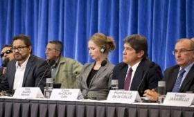 The FARC delegation in Havana