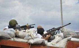 Vigilantes in assault on Nueva Italia, Michoacan
