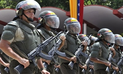 Venezuela's Bolivarian National Guard