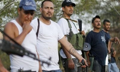 Mining companies are paying Michoacan vigilantes