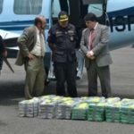 Cocaine seized in Costa Rica in 2013