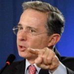 Ex-Colombian President Alvaro Uribe