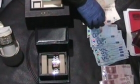 Money seized in the operation