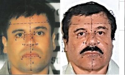 Young 'Chapo' vs old 'Chapo' photo analysis by Mexico govt