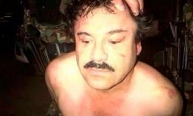 Joaquin 'Chapo' Guzman following his capture