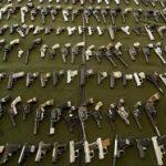 Illegal pistols seized in Brazil