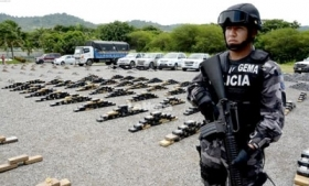Ecuador has seized 10 tons of drugs in 2014