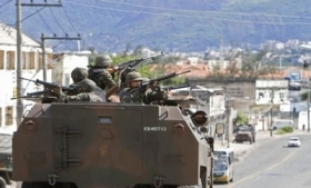 Brazil's armed forces enter a Rio slum