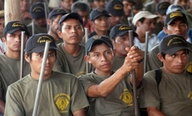 Members of Guerrero's CRAC
