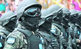 Members of Honduras' military police