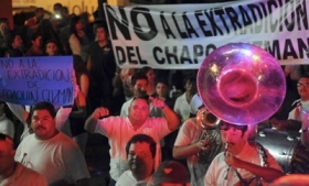 Many have protested against Guzman's extradition