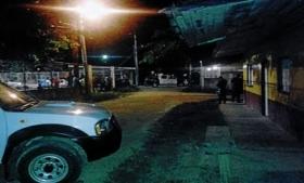 Site of mass killing in San Pedro Sula