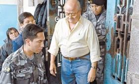 Cesar Fernandez, disgraced ex-governor of Manabi