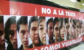Bolivian campaign against human trafficking