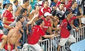 Independiente fans have been implicated in drug sales